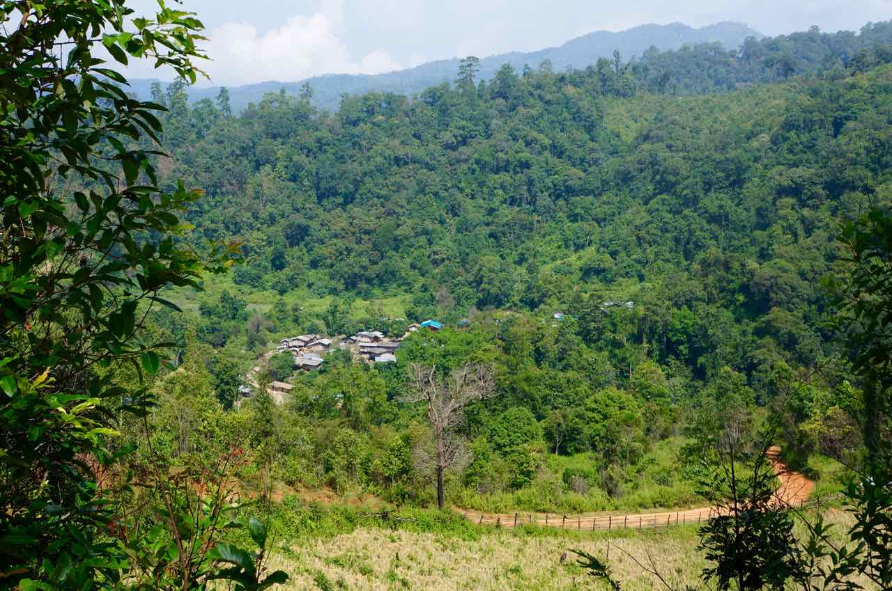 Target village in Mae Hong Son province