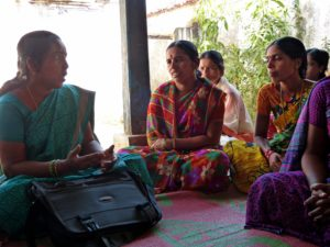 Women in India share their views on farming, nutrition, and health and stay up-to-date thanks to Digital Green.