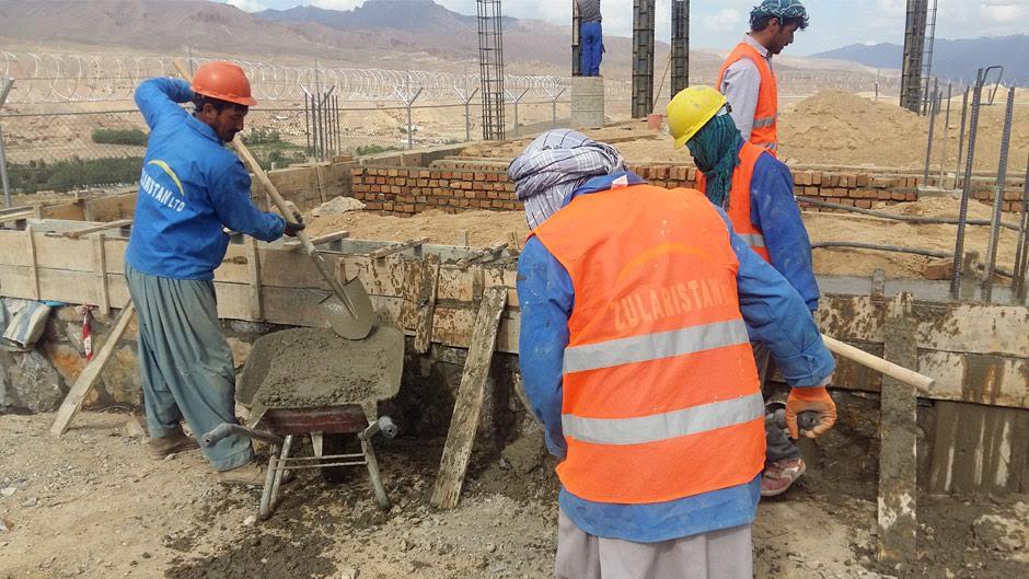 Zularistan workers